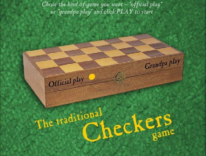 Традиционные шашки, Игры Шашки - Играть Онлайн!