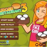 Игра Бургер ресторан 3