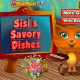 Игра Вкусные блюда Сиси