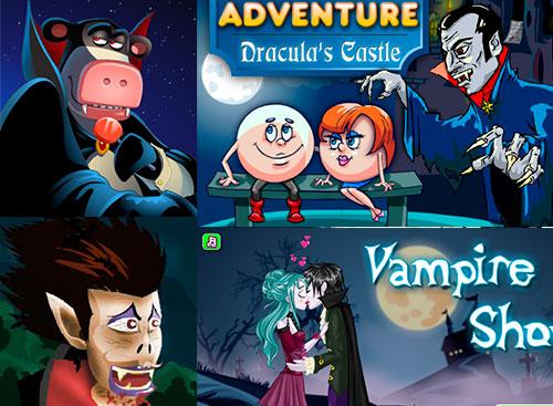 Играть в игры вампиры