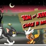 Игра Том и Джери - преследование на болоте