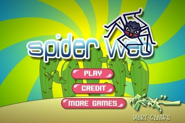 Паутина, Игры для детей 3 лет - Играть Онлайн!