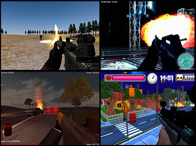 Играть в игры стрелялки 3д