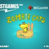 Игра Зомби коты