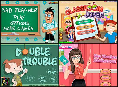 Играть в игры школа