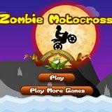 Игра Зомби мотокросс
