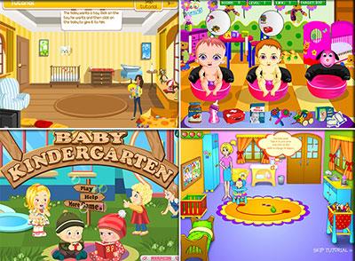 Играть в игры Детский Сад