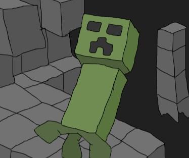 Игра Майнкрафт Опасный Кропер - Играть Онлайн!