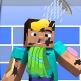 Игра Майнкрафт - Помой Стива