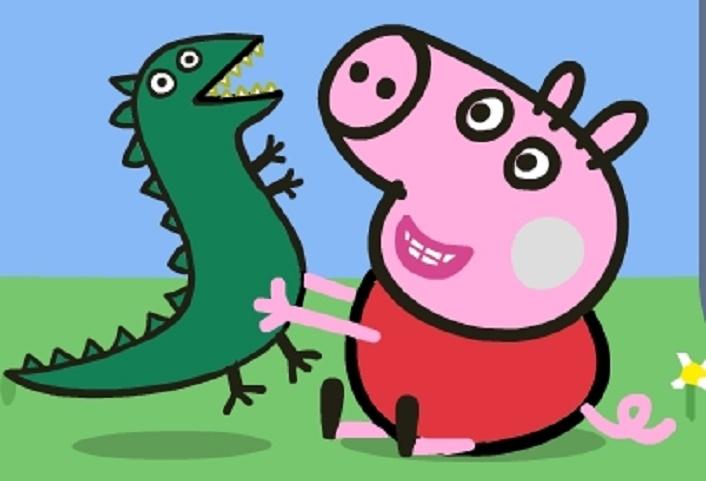 игра свинка пеппа раскраски играть онлайн