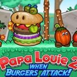 Игра Папа Луи 2 - Атака Гамбургеров