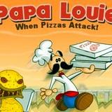 Игра Папа Луи - Атака Пиццы