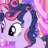 Игра Пони - Новогодняя Прическа Искорки фото
