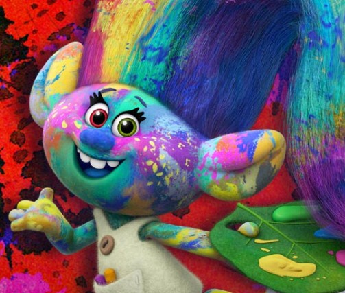 Игра Тролли: Раскраска - Играть Онлайн!