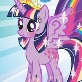 Игра В Королевстве Твайлайт Спаркл: Пони