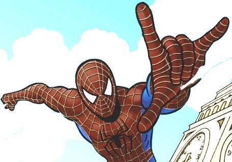 Игра Человек Паук: Раскраска - Играть Онлайн!