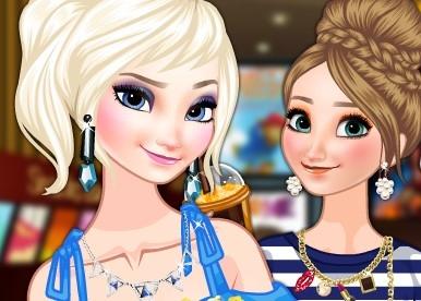 Игра Холодное Сердце: Эльза и Анна в Кино - Играть Онлайн!