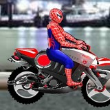 Игра Человек Паук: Мотоцикл