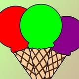 Игра Раскрась Мороженое