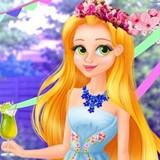 Игра Рапунцель Секреты Крастоы: Одевалка Принцессы Диснея