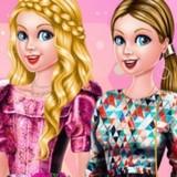 Игра Одевалки Барби и ее Сестер
