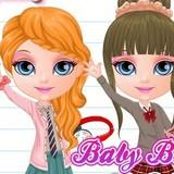Игра Одевалки Барби в Школу