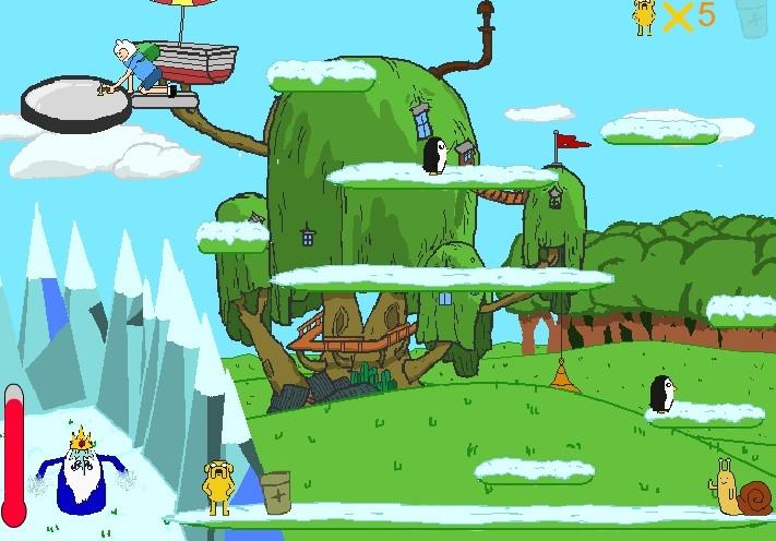 Игра Спасение Планеты: Время Приключений - Играть Онлайн!