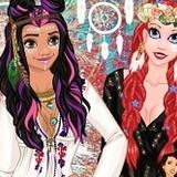 Игра Одевалка: Новый Стиль Принцесс