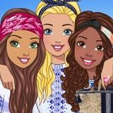 Игра Одевалка: Барби в Греции