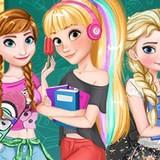 Диснеевские Девочки Вернулись в Школу