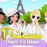 Игра Принцессы: Белые Наряды