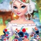 Игра Эльза: Цветочное Лето