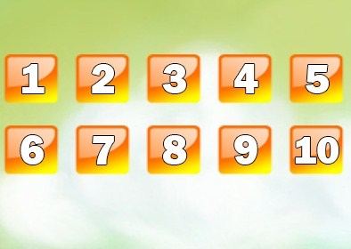 Игра Математика: Счет от 1 до 10