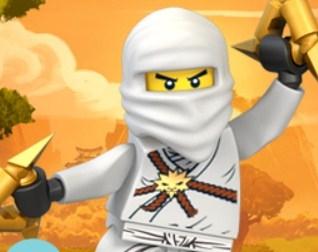 Игра Лего Ниндзяго Раскраска - Играть Онлайн!