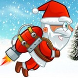 Игра Летающий Санта