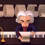 Игра Помоги Бетховену Собрать Бумаги