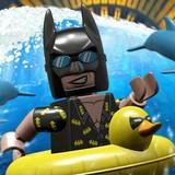 Игра Лего Бэтмен Катается на Дельфине