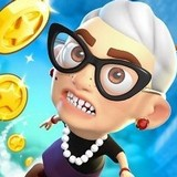 Игра Злая Бабушка: Прыжок Ввверх и Вперёд
