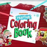 игра никелодеон праздничные раскраски играть онлайн