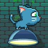 Игра Котик Прыгает по Лампам
