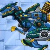 Игра Роботы Динозавры: Солдат Тираннозавр