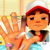 Игра Сабвей Серф: Травма Руки