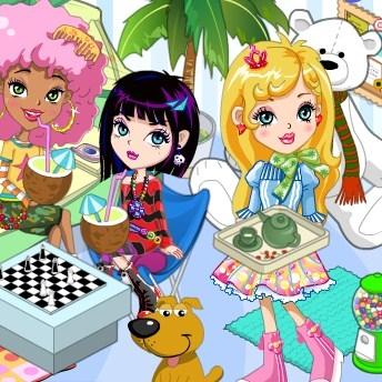 Игры для девочек онлайн новая комната 2 онлайн для детей гонка 4 года