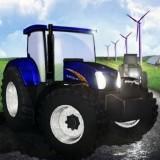 Игра Гонка Тракторов на Ферме