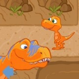 Игра Динозавры в Лабиринте