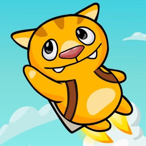 Игра Летающий Котик - Играть Онлайн!