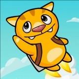 Игра Летающий Котик