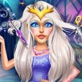 Игра Прически Снежной Королевы