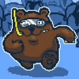 Игра Медведь с Аквалангом