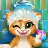 Игра Ванна для Рыжего Котенка
